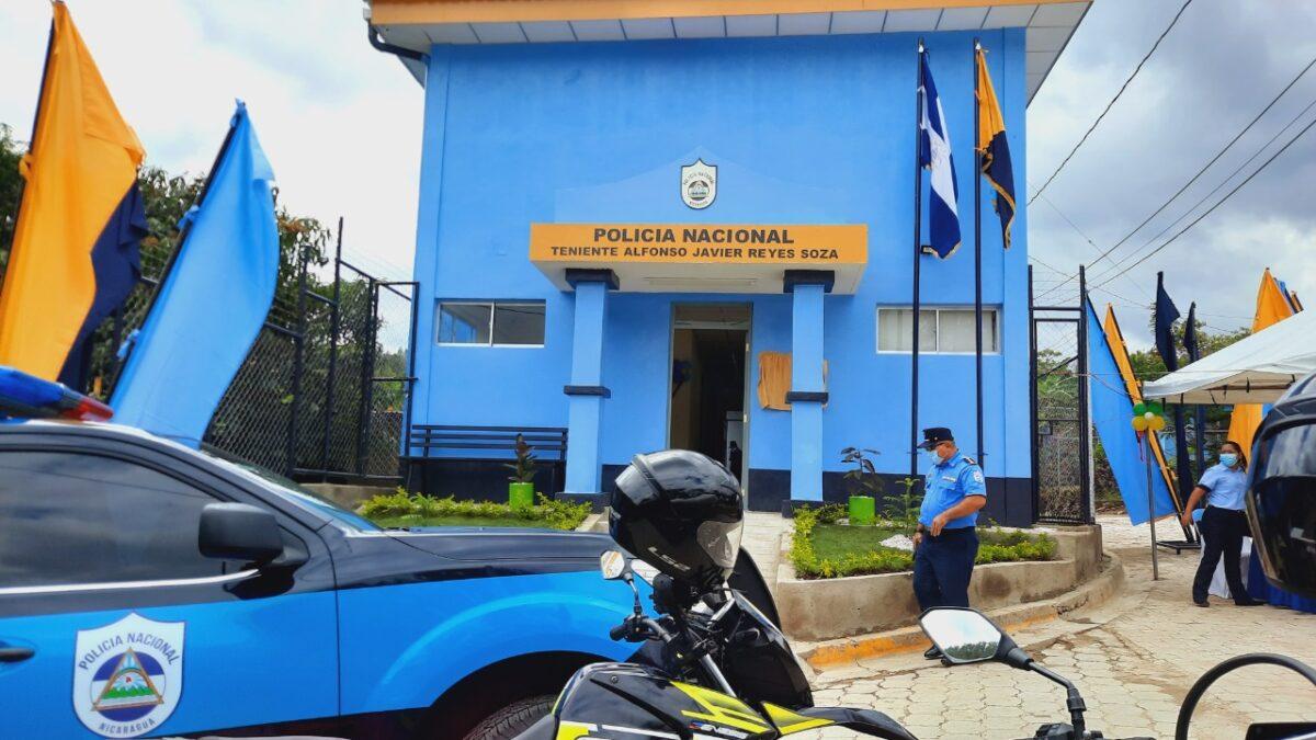 Inauguran nueva estación policial en Dipilto, Nueva Segovia