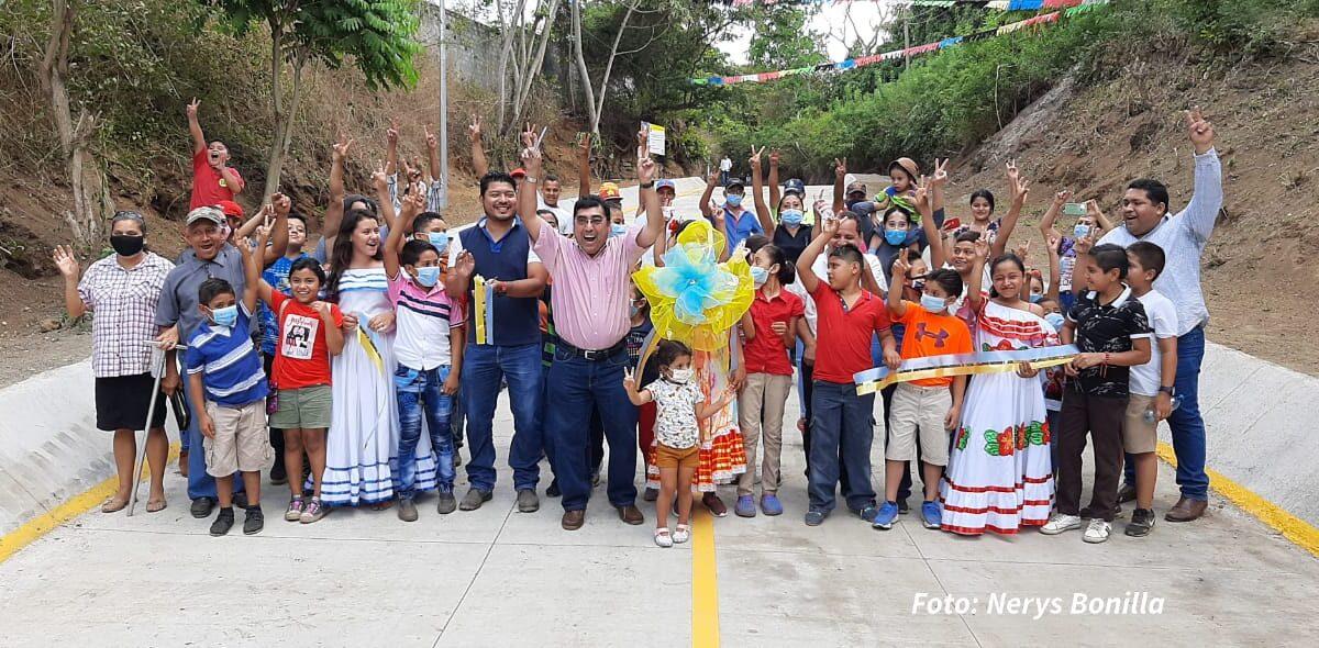 Inauguran obras de mitigación en San Isidro de la Cruz Verde