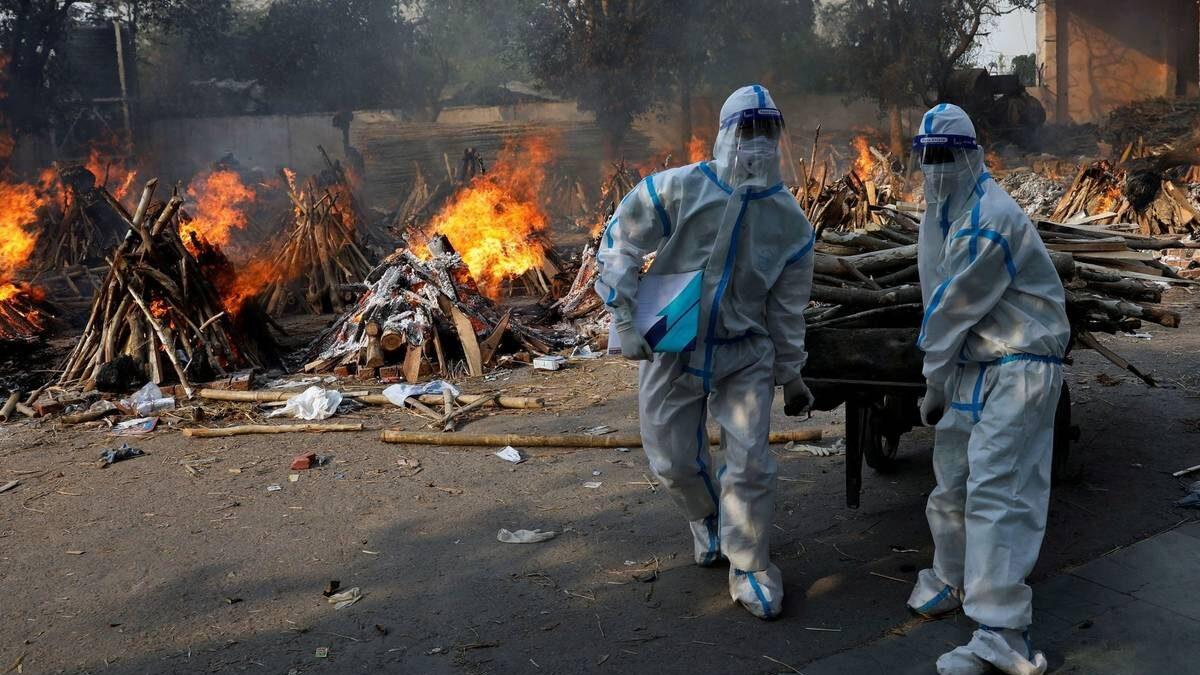 India: aumentan decesos por la Covid-19 en los últimos meses