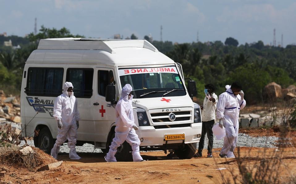 India registra más de 6 mil muertos por la Covid-19