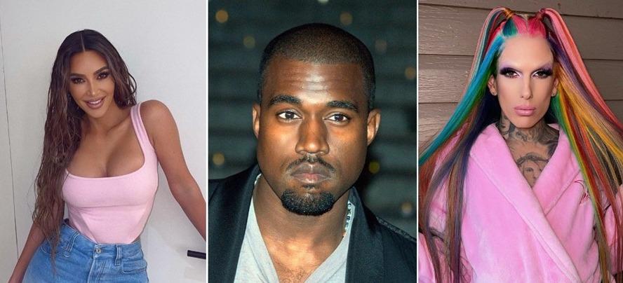 Jeffree Star aclara rumores sobre su romance con Kanye West