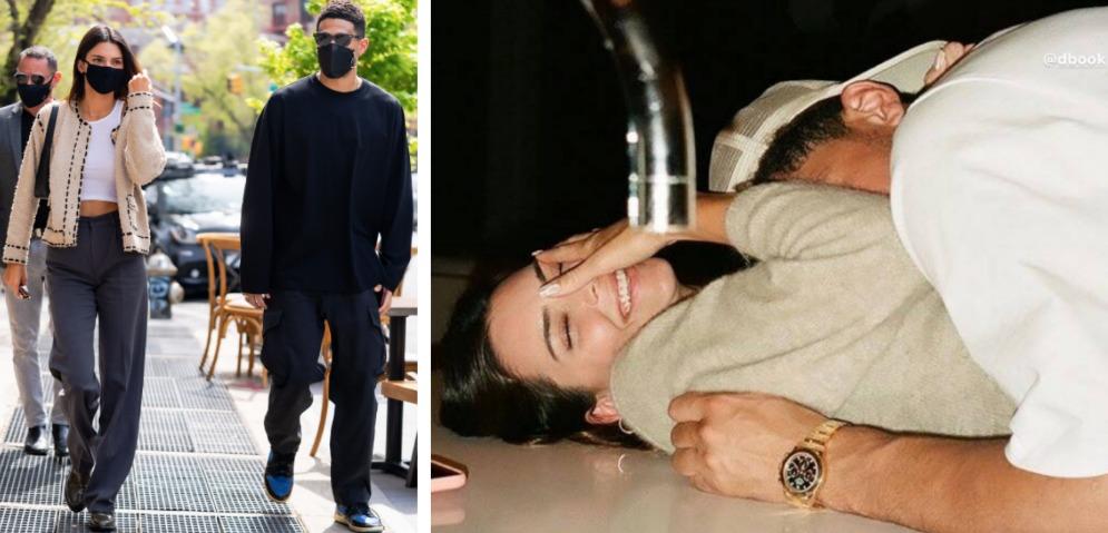 Kendall Jenner y Devin Bookerm celebran primer aniversario de novios