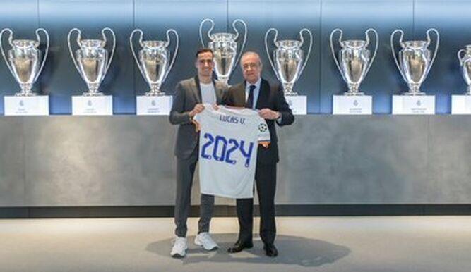 Lucas Vásquez renueva contrato con el Real Madrid