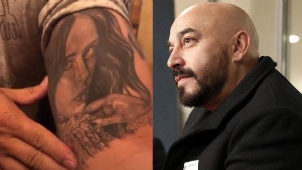 Lupillo Rivera revela que cubrió su tatuaje con el rostro de Belinda