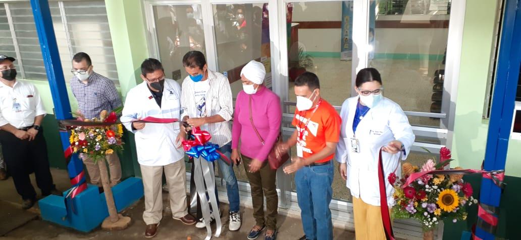Mejoran condiciones del área de infectología en el hospital Lenin Fonseca