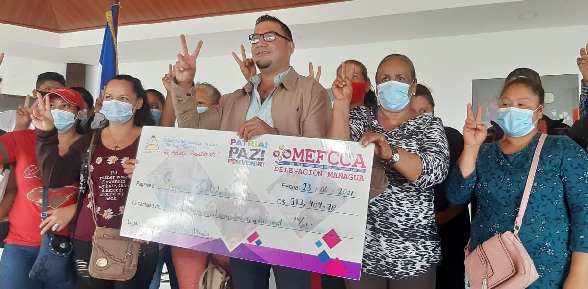 Más de C$155 millones colocados en microcréditos en Nicaragua