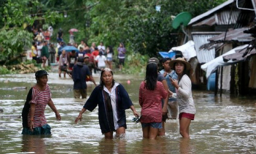 Seis personas han muerto tras la tormenta Dante en Filipinas