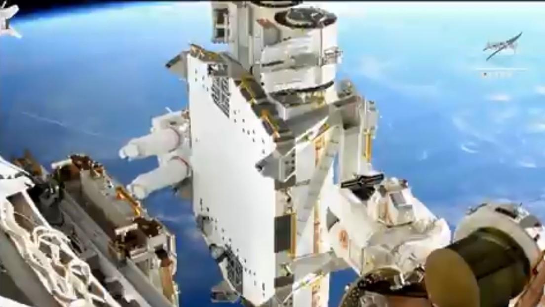 LA NASA: extraordinaria vista de la tierra a 410 kilómetros de altura