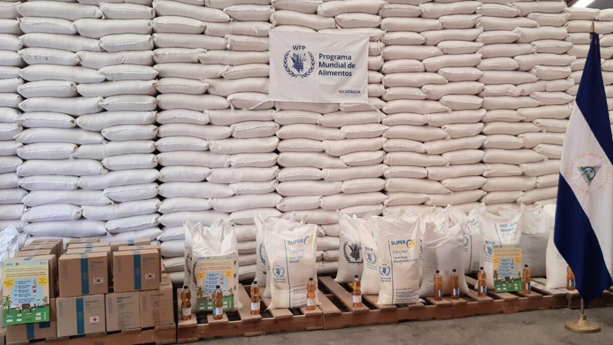 Nicaragua continúa garantizando alimentación a familias afectadas por huracanes Eta e Iota