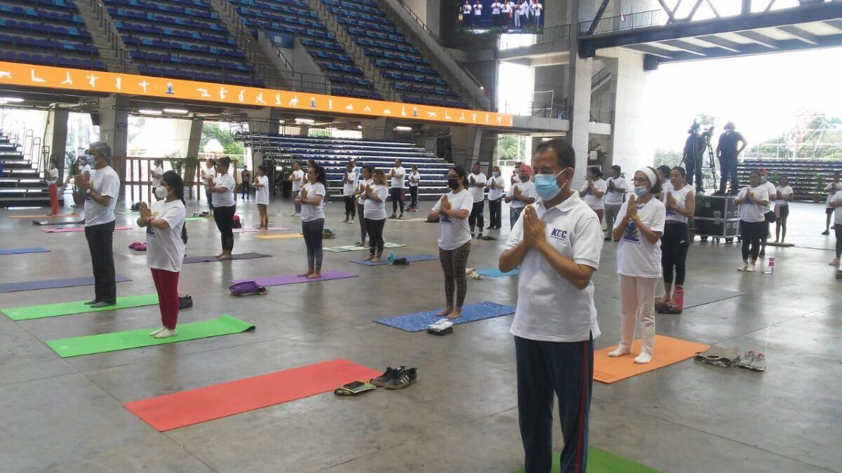 Nicaragua conmemora el Día Internacional del Yoga