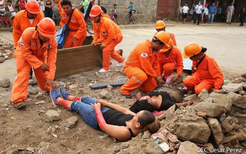 Nicaragua: 1.6 millones de personas participan del II Ejercicio de Protección a la Vida