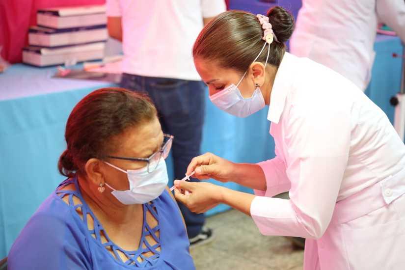 Nicaragua avanza en el proceso de vacunación voluntaria contra la Covid- 19