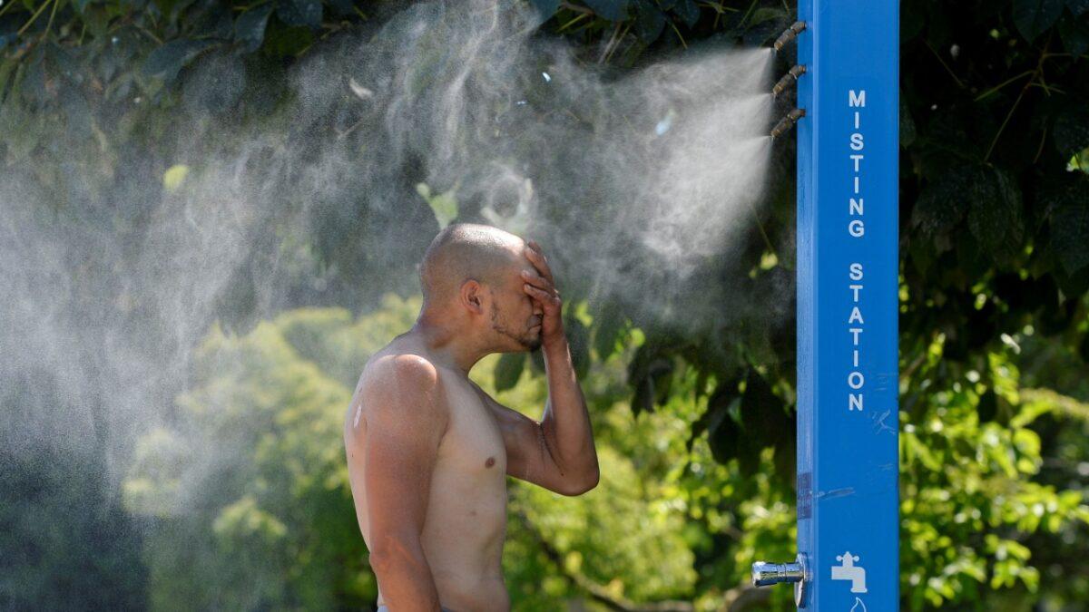 Una ola de calor histórica registra el noroeste de EE.UU. y Canadá