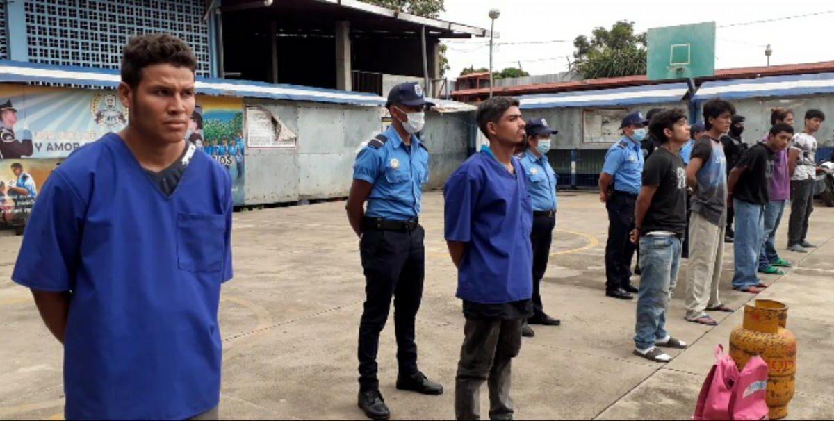 Efectivo Plan Policía deja la captura de 8 delincuentes en Carazo