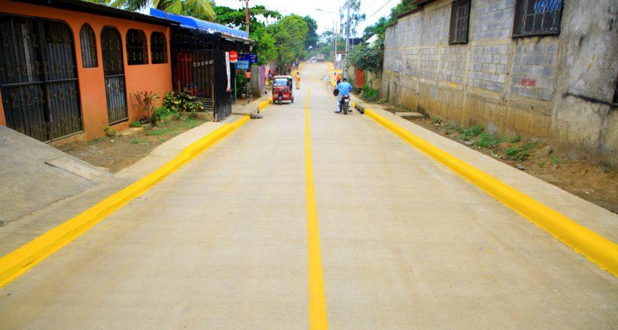 Proyecto de mejoramiento vial avanza en un 54% en Managua