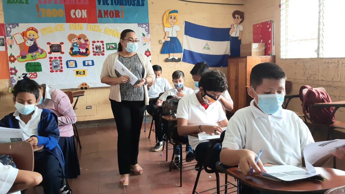 Realizan certamen «Aprendiendo con calidad» en escuelas de Nicaragua