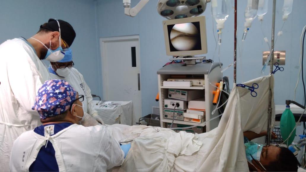 Realizan jornadas de cirugías en el hospital Manolo Morales