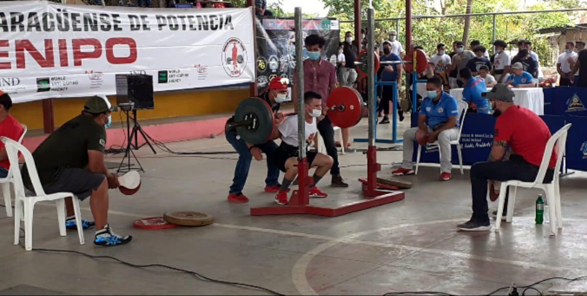 Carazo fue sede del Torneo Nacional de Pesas
