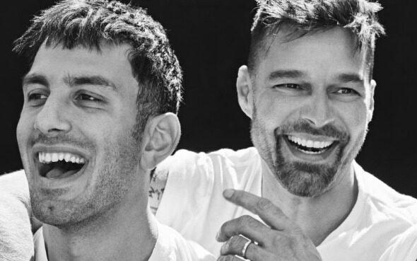Ricky Martín y Jwan Yosef forman parte de la portada de una revista italiana