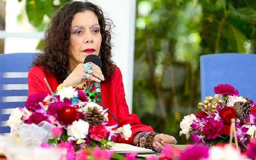 "Rosario Murillo: ""La Justicia tarda, pero llega"""