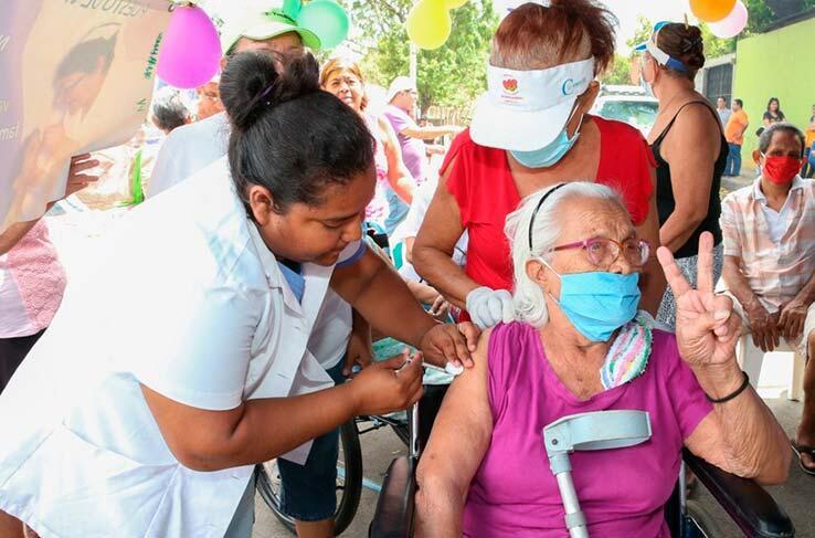 Continúa aplicación de segunda dosis de vacuna contra la Covid-19 en Nicaragua