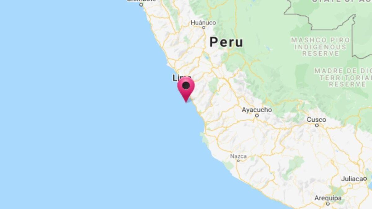 Fuerte sismo de magnitud 6.0 sacude la capital de Perú