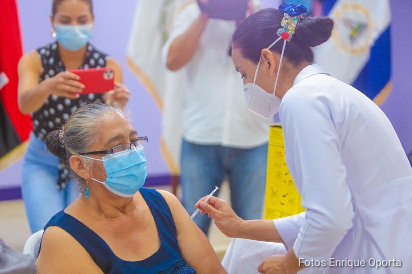 Vacunación y actividades para cuidar la salud continúa en toda Nicaragua