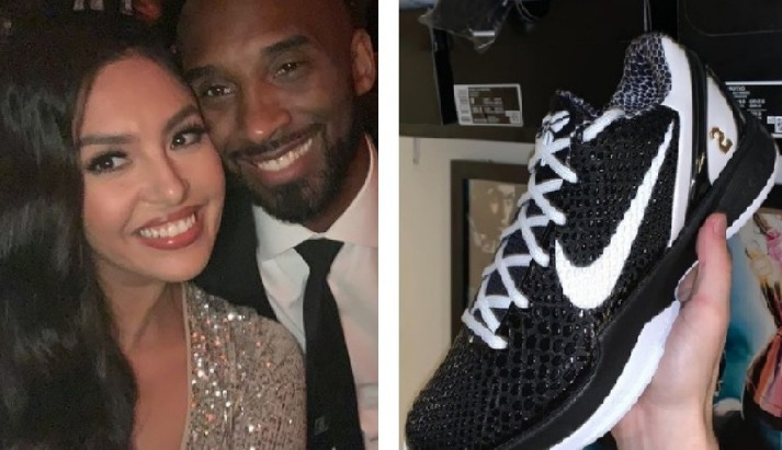 Vanessa Bryant pidió explicaciones a Nike sobre los tenis 'Mambacita'