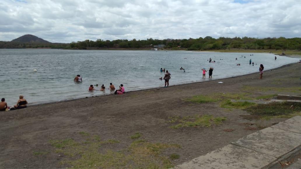 Xiloá, destino turístico para recrearse y realizar fisioterapias