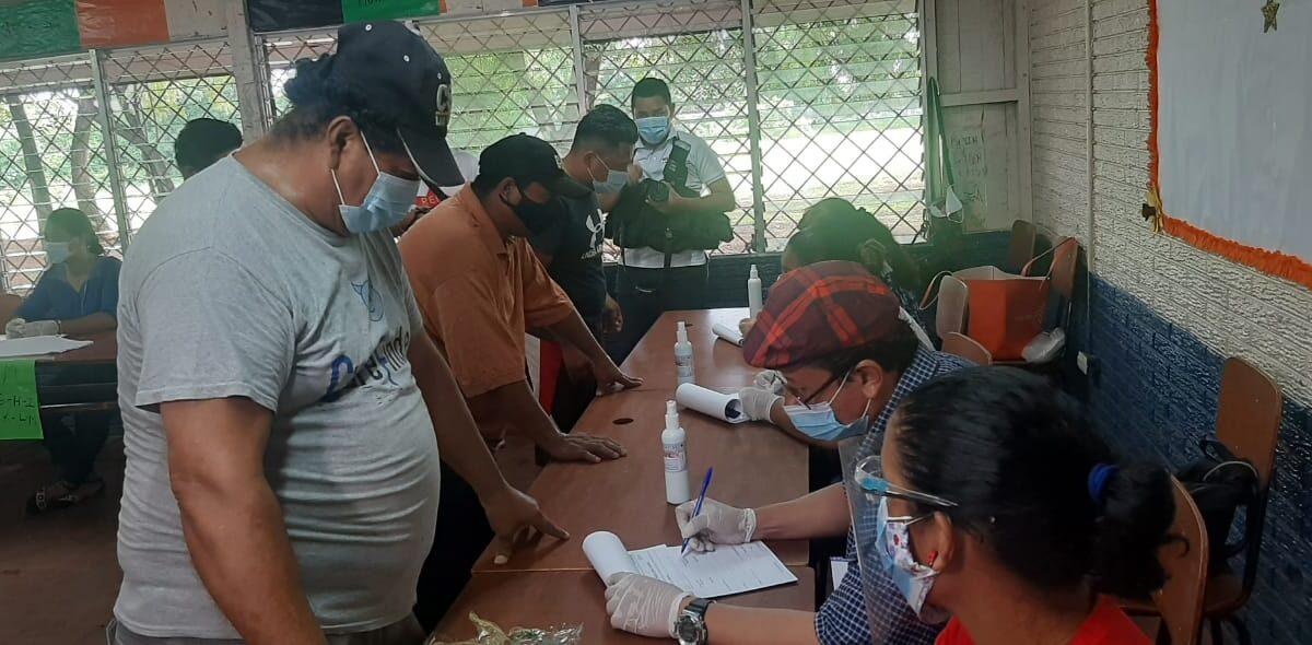 Segundo día de Verificación Ciudadana concurrido en el distrito VII de Managua