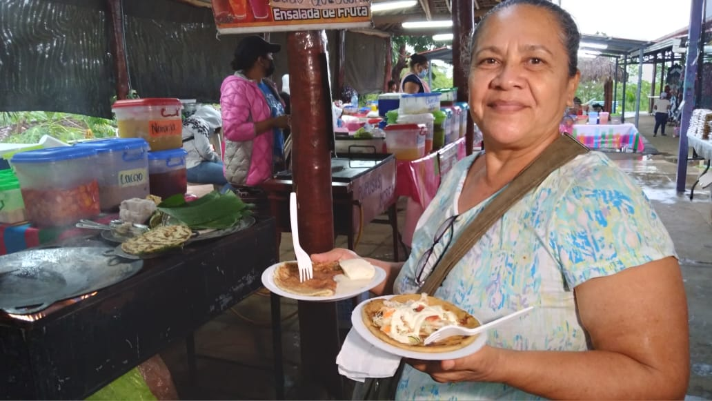 Disfrutá de la variedad de productos en el Parque de Ferias