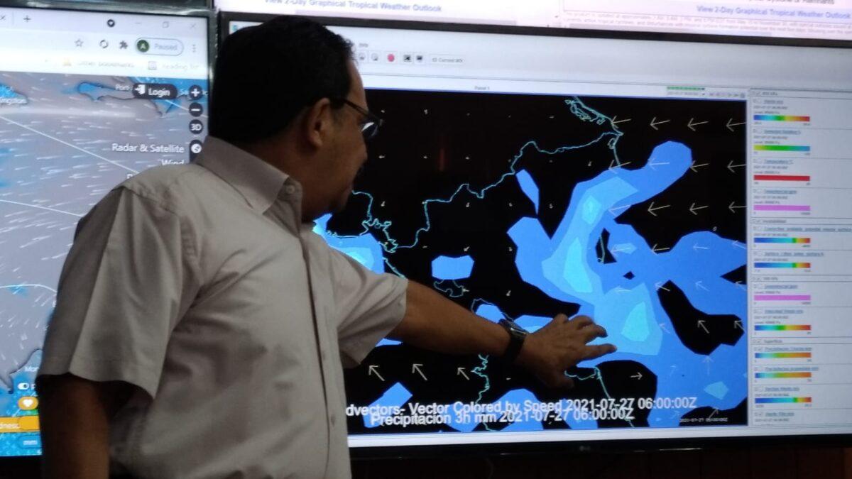 Nicaragua bajo influencia de una nueva onda tropical