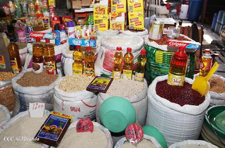 Amplio abastecimiento y precios estables en mercados de Managua