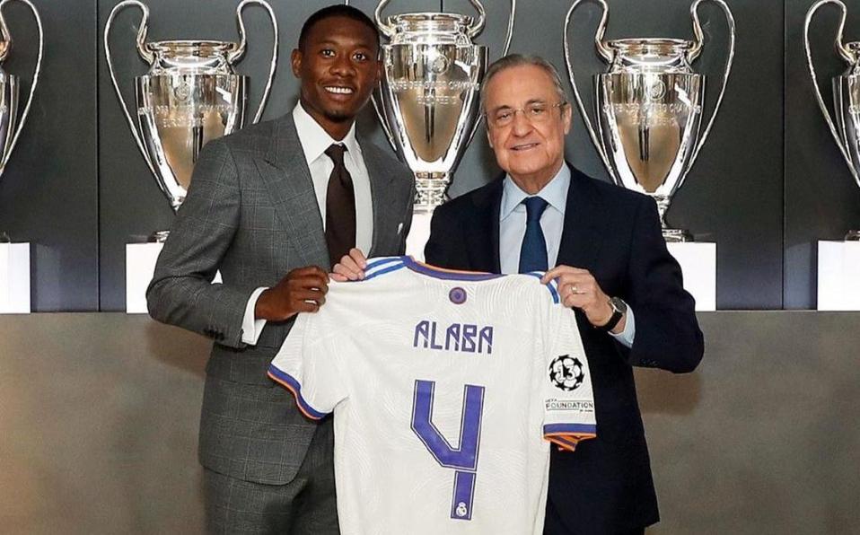 David Alaba hereda el número 4 de Sergio Ramos en el Real Madrid