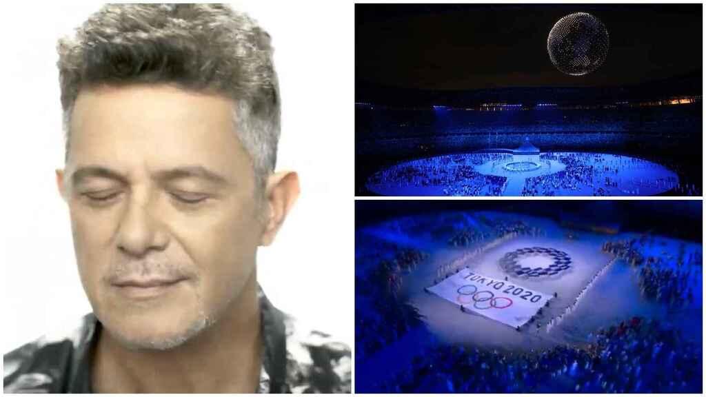 Alejandro Sanz invitado sorpresa en la inauguración de los Juegos Olímpicos Tokio 2020
