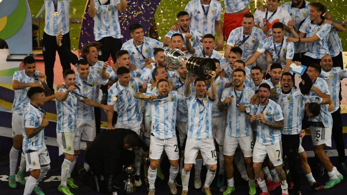 Argentina se corona campeón de la Copa América 2021