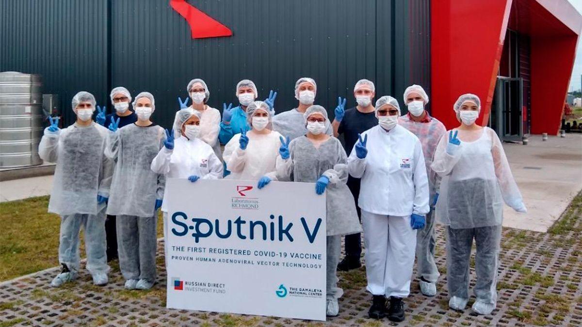 Argentina produce más de 153 mil dosis de la vacuna Sputnik V