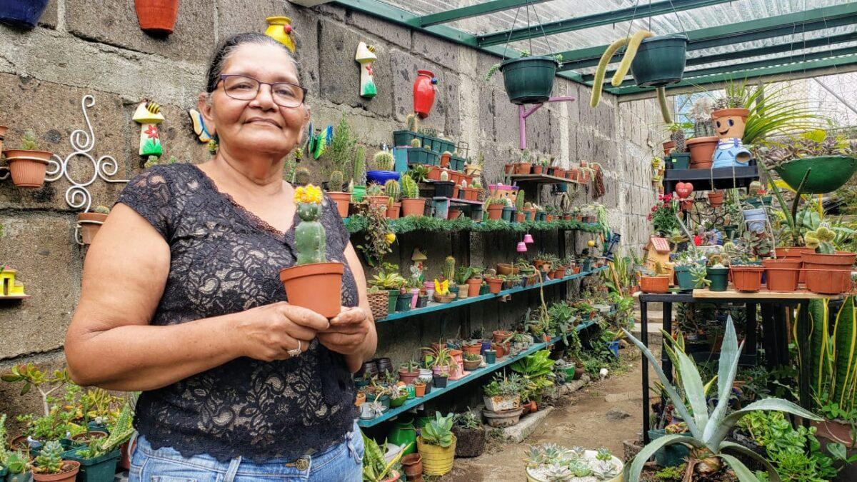 Boaco: El Jardín de la Abuela, un hobby ambiental