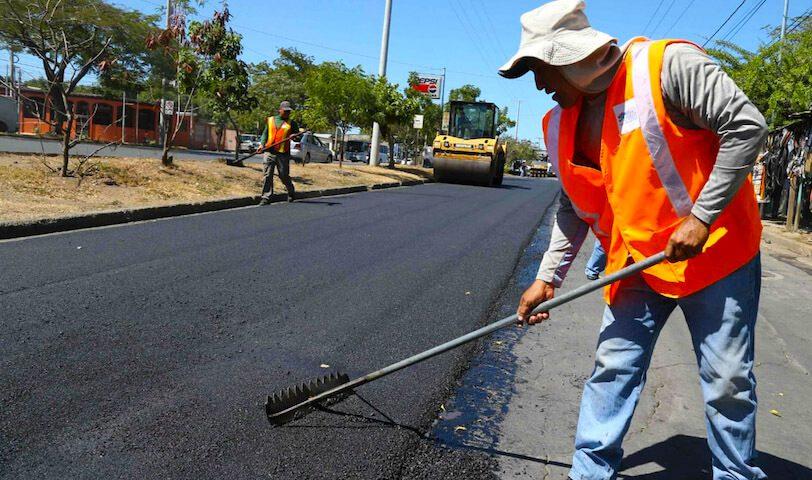Más de 300 calles serás mejoradas en el mes de julio en Nicaragua