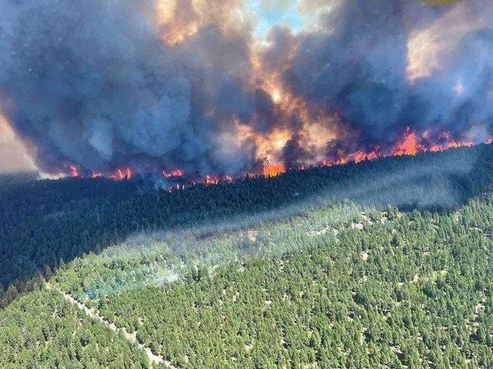 Canadá es azotado por incendio tras una ola de calor histórica