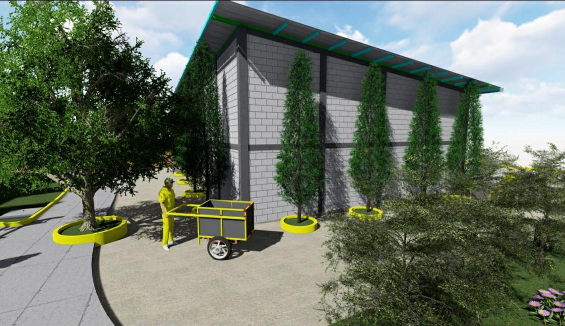 Construyen centro de acopio para desechos en mercado El Mayoreo