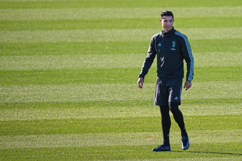 Cristiano Ronaldo regresa a la Juventus sumándose a los entrenamientos