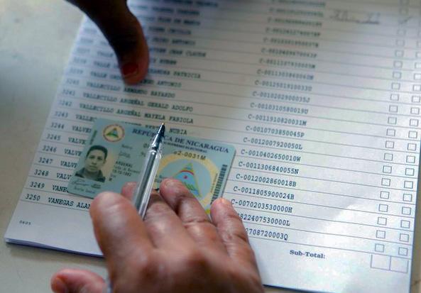 CSE presenta Padrón Electoral Provisional en Nicaragua