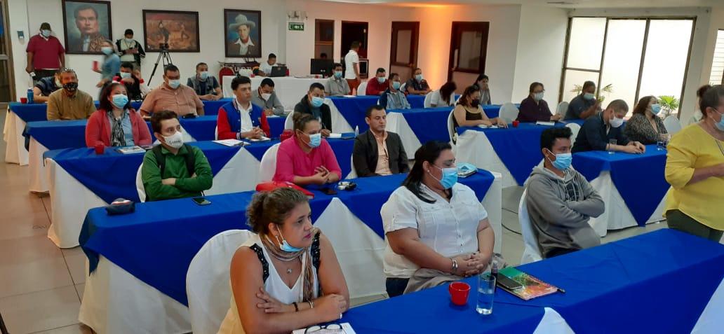 Docentes técnicos de toda Nicaragua actualizan conocimientos