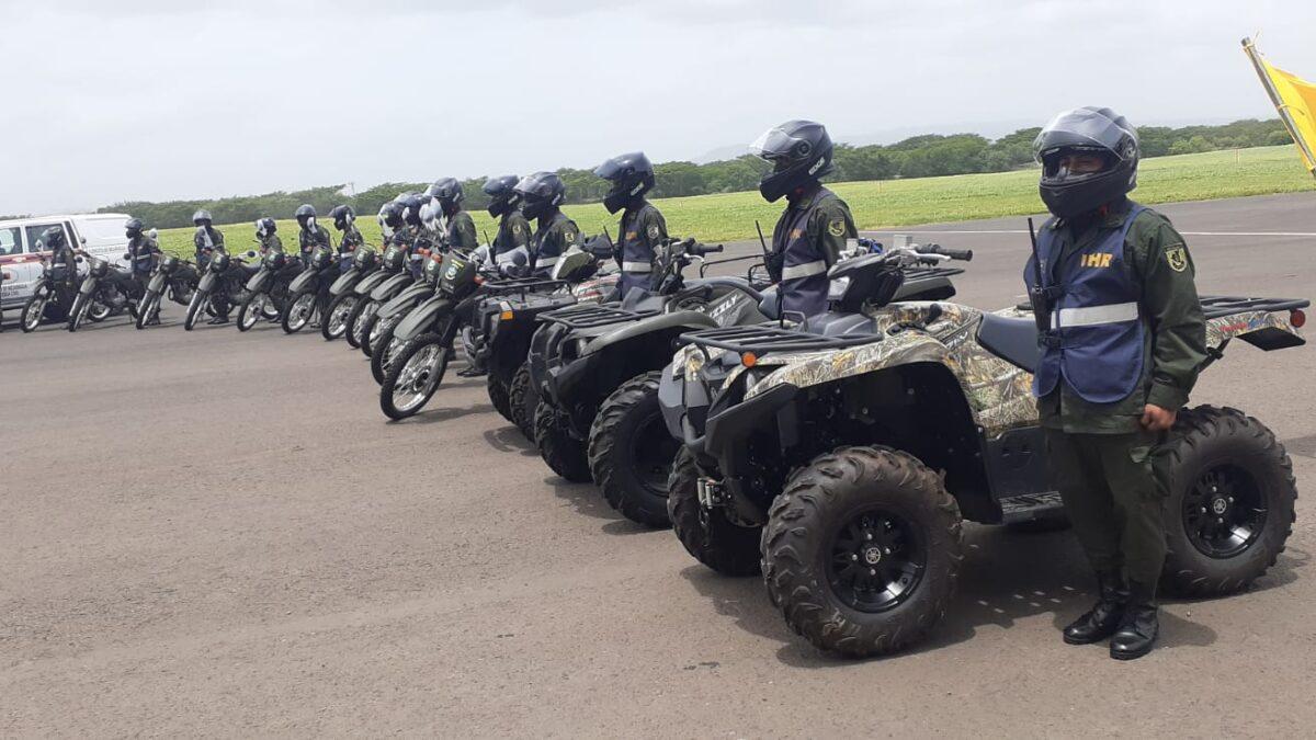 Ejército de Nicaragua recibe importante donación de medios y equipos para atender emergencias