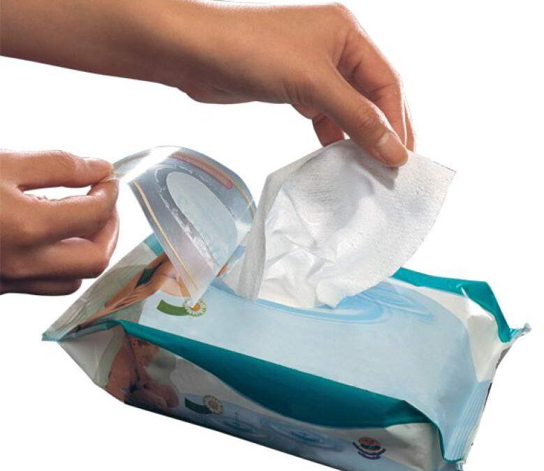 Expertos no recomiendan las toallas húmedas para la higiene personal