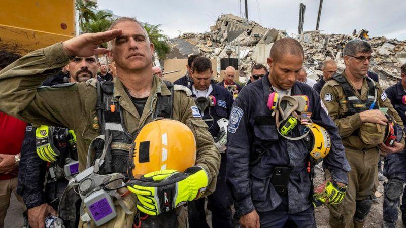 Miami pone fin a búsqueda de sobrevivientes tras derrumbe
