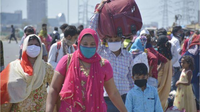 India: por primera vez se reducen los contagios por Coronavirus