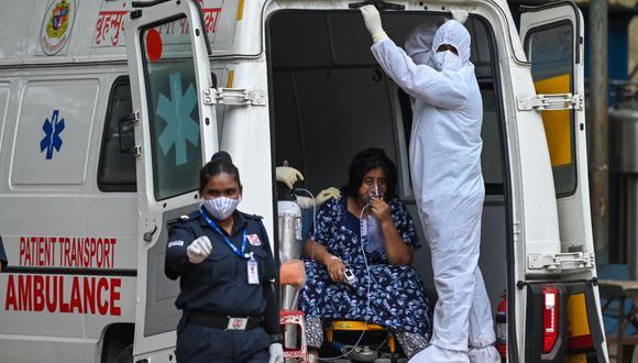 India registra más de 40 mil nuevos contagios de la Covid-19