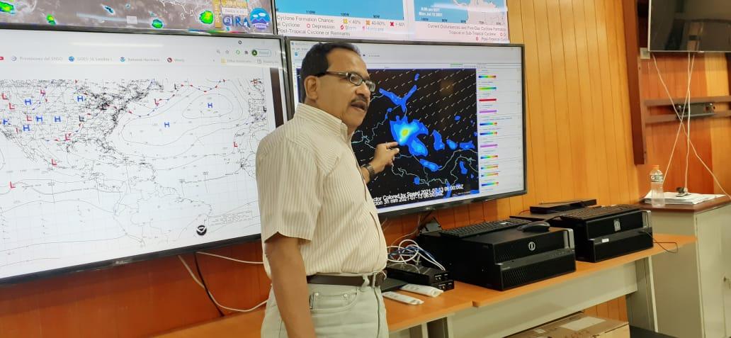 Ineter: ingresa onda tropical número 13 a Nicaragua